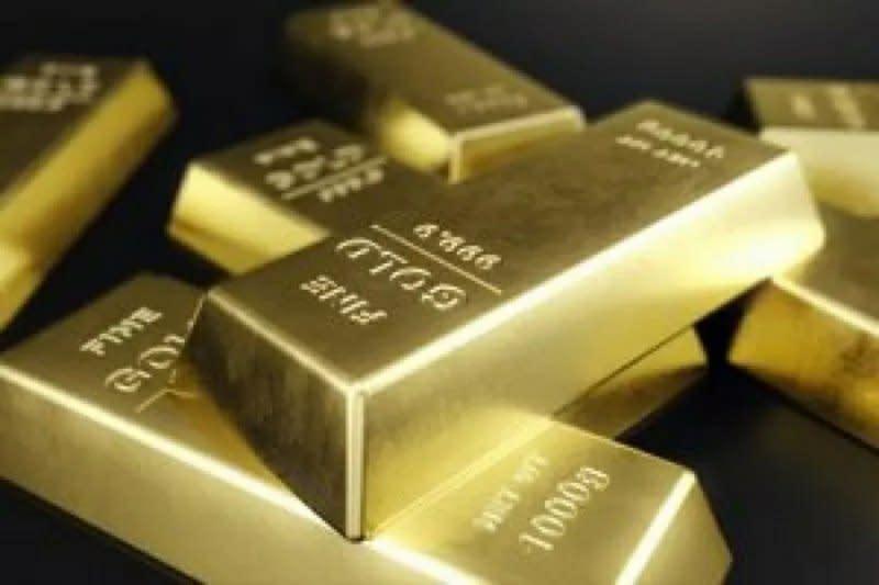 """Harga emas """"rebound"""" dari penurunan 3 hari beruntun saat dolar melemah"""