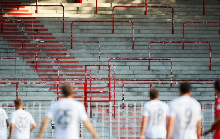 Empty stands are set to become a regular sight as football league in Europe try to salvage their seasons