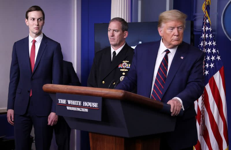 Trump, Macron weigh UN leaders' meeting on coronavirus: White House
