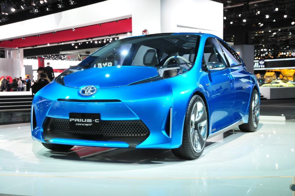 2011 Toyota Prius C Concept