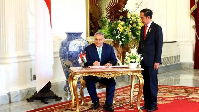 Terima PM Hungaria, Jokowi Ingin Lanjutkan Kerja Sama Pengolahan Air Bersih
