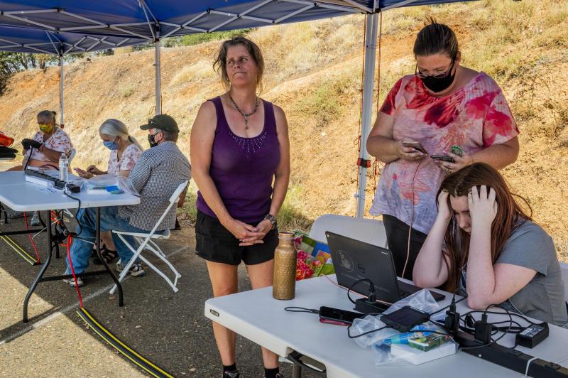 California Wildfires Power Shutoffs