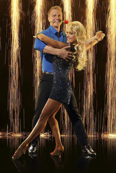 """Dancing With the Stars"" Season 16 SEAN LOWE, PETA MURGATROYD"