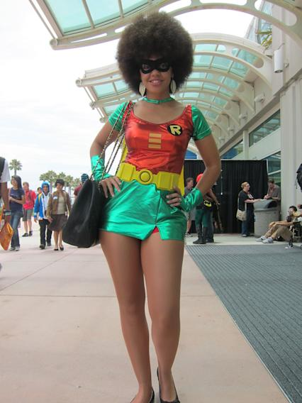 This Girl Wonder is keeping it funky - San Diego Comic-Con 2012