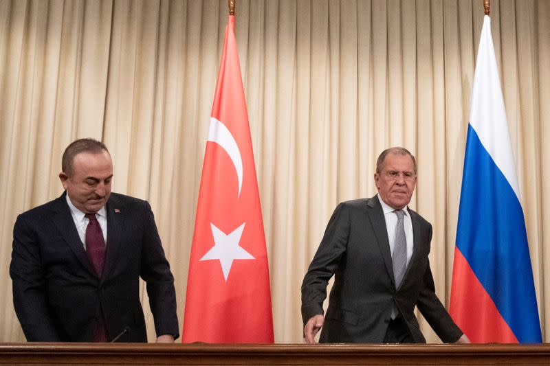Turkey and Russia put off talks expected to tackle Libya and Syria