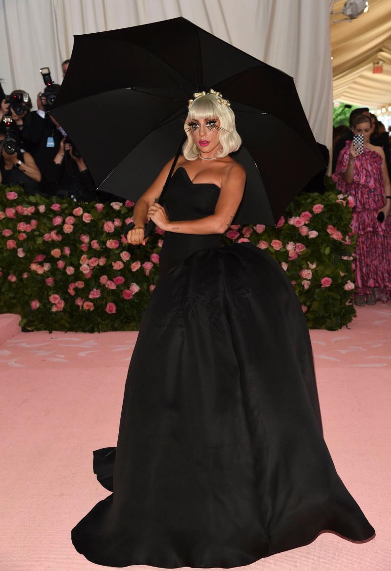 Lady Gaga met gala 2019