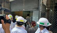 裕民坊重建有商戶須遷出 工作人員已剪鎖入內