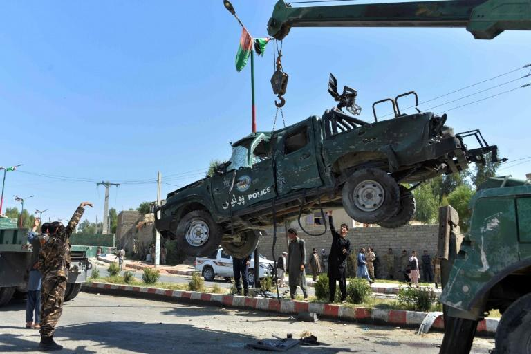 Eight killed in attack targeting Afghan governor