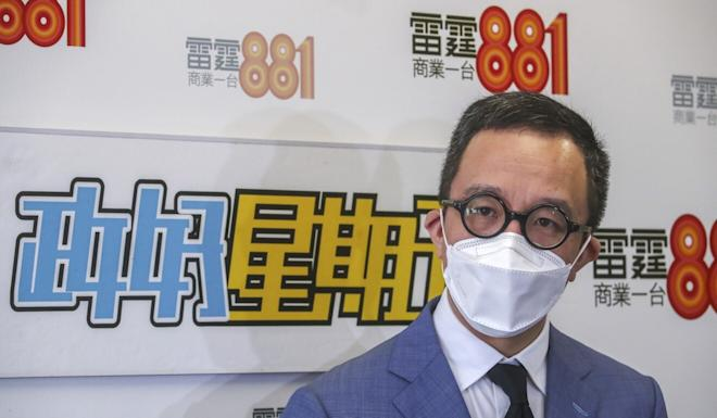 Professor Gabriel Leung says a sustained outbreak has started. Photo: Edmond So