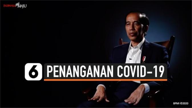 VIDEO: Jokowi Sebut Keseimbangan dan Optimisme, Strategi Penanganan Covid-19