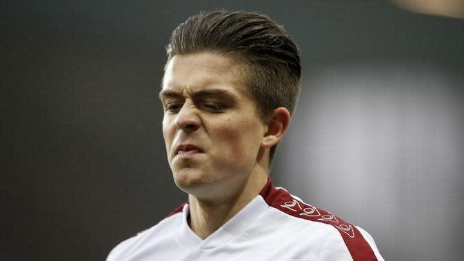 Gelandang Aston Villa asal Inggris, Jack Grealish. (AFP/Adrian Dennis)