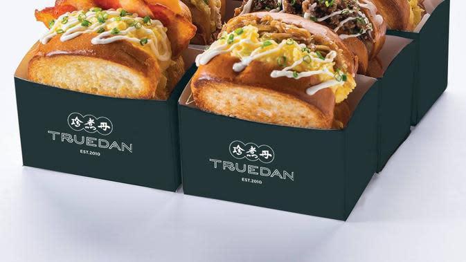 Satu lagi boba Taiwan yang masuk pasar Indonesia, Truedan. Selain boba, Truedan juga menyediakan sandwich (Foto: Truedan)