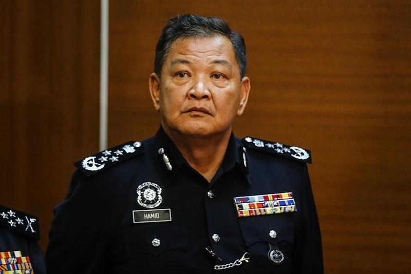 Inspector-General of Police Tan Sri Abdul Hamid Bador today said he has his own way when it comes to ensuring that the police locate Indira Gandhi's daughter and stressed that he does not need to publicise how it will be done. — Picture by Firdaus Latif