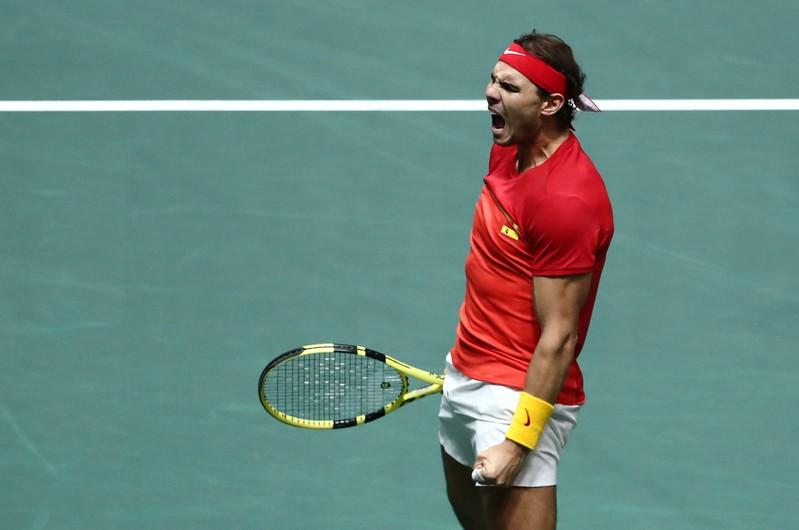 Inspired Nadal fires Spain into Davis Cup final against Canada