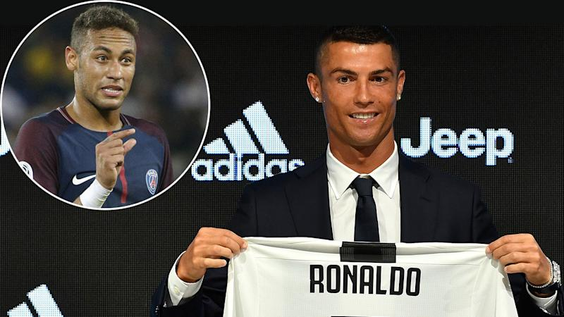check out c93af 3d10e Ronaldo puts Neymar to shame with insane jersey sales