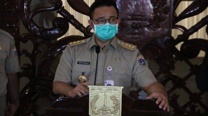 Gubernur DKI Jakarta Anies Baswedan di Balai Kota, Jakarta Pusat. Source: Dok. Pemprov DKI.