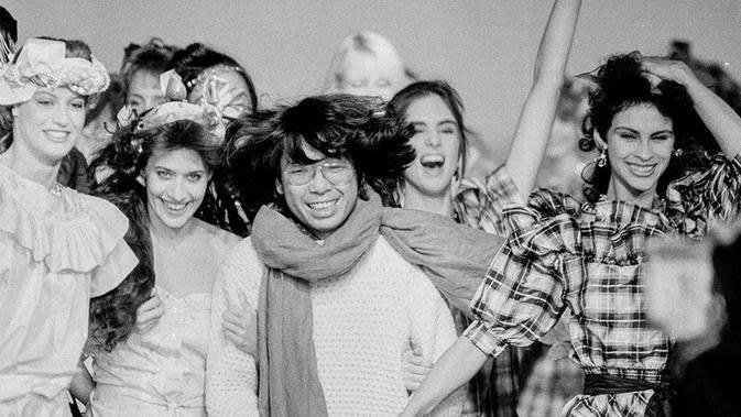 Mengenang Perjalanan Karier Kenzo Takada, Desainer Jepang yang Meninggal Akibat Covid-19