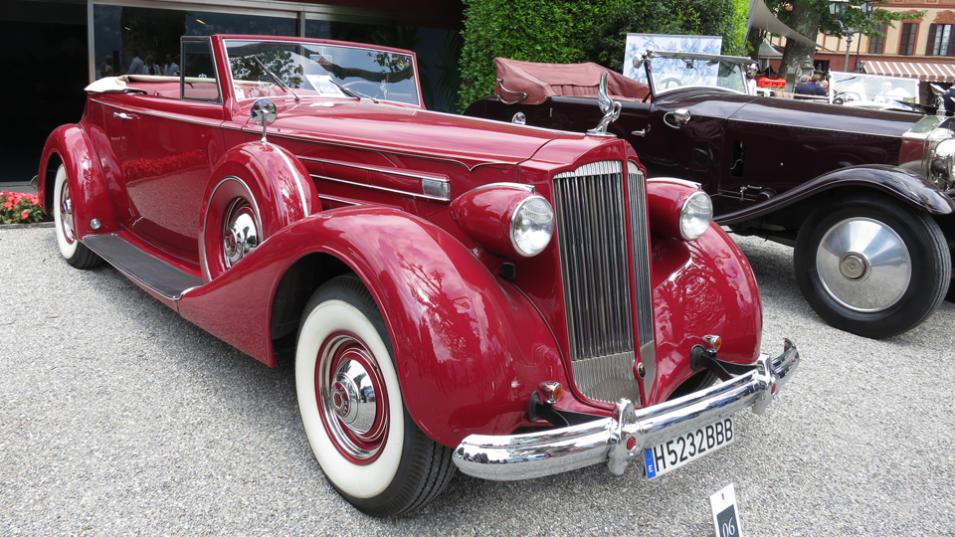 1937 Packard Twelve, 15th Series