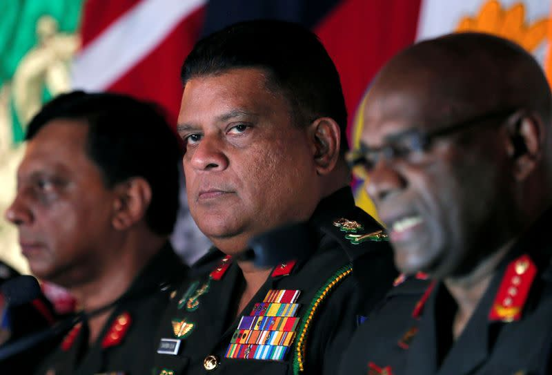 U.S. bans Sri Lankan army chief from entry, citing civil war abuses