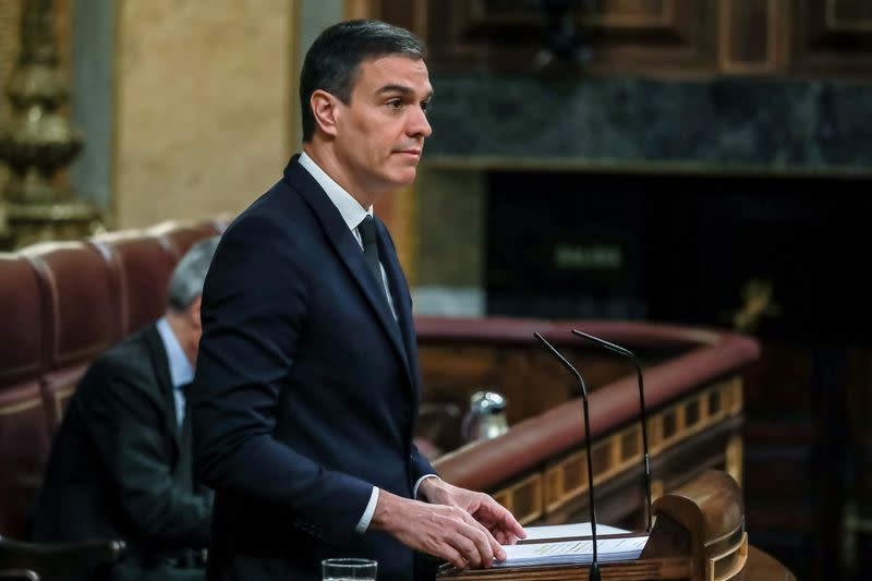 Spain's PM backs economy minister as potential candidate to head euro group