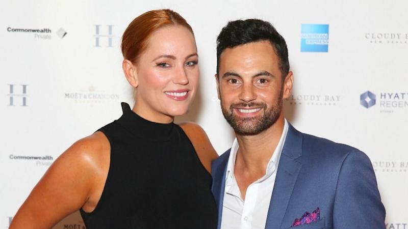 Cam Merchant and Jules Robinson have become engaged for real since meeting on Married at First Sight. Photo: Getty Images