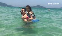 在海邊抱小三 議員曾煥嘉頻被爆醜聞