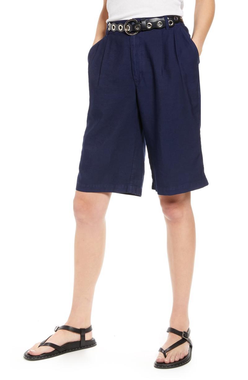 Treasure & Bond GD Trouser Shorts. Image via Nordstrom.