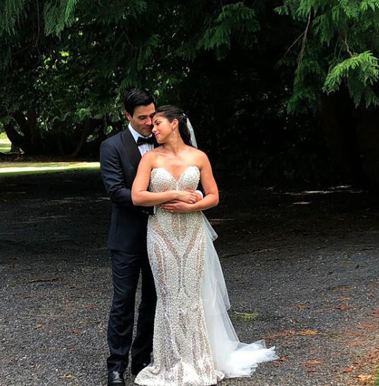 Home and Away couple Sarah Roberts and James Stewart married in a fairytale wedding in Ireland in July