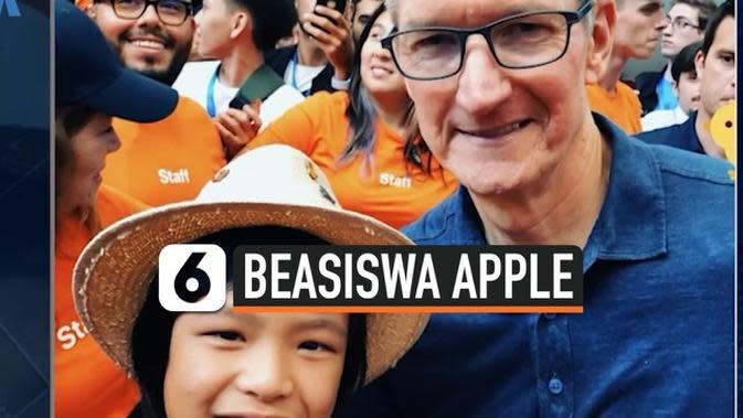 VIDEO: Anak Indonesia Dapat 4 Kali Beasiswa dari Apple, Kok Bisa?