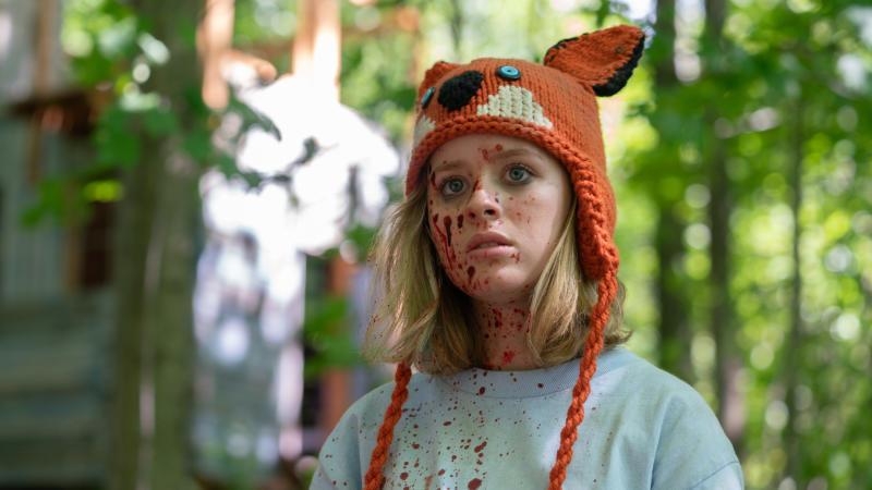 Lulu Wilson in 'Becky'. (Credit: Vertigo Releasing)