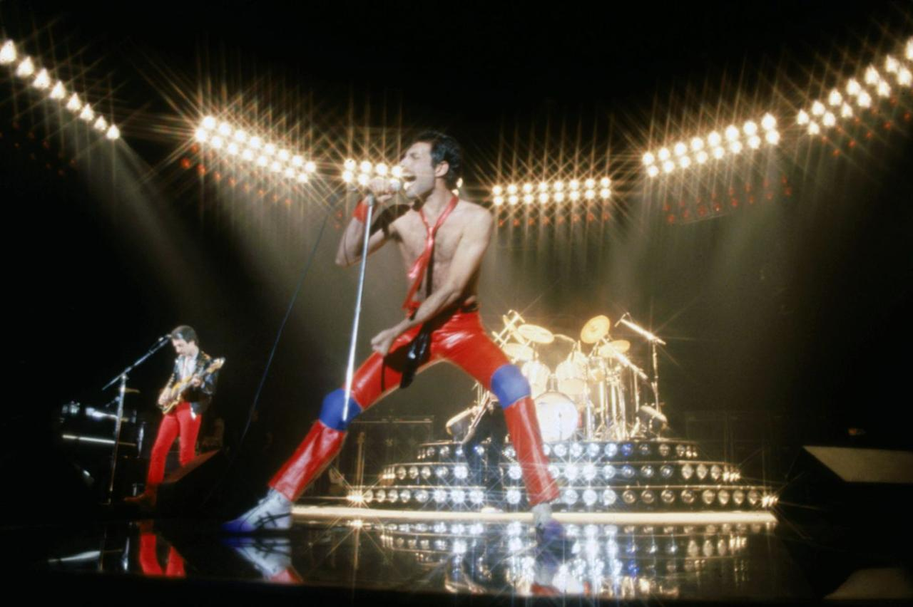 "<p>This mega-recognizable hit was written after a Queen concert in 1977. ""'We Will Rock You' was a response to a particular phase in Queen's career, when the audience was becoming a bigger part of the show than we were,"" Brian May <a href=""https://www.rollingstone.com/music/music-features/queens-news-of-the-world-10-things-you-didnt-know-195704/"" target=""_blank"">explained in an interview</a>. ""So, both Freddie and I thought it would be an interesting experiment to write a song with audience participation specifically in mind.""</p>"