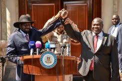 Pemimpin pemberontak Sudan Selatan ditunjuk sebagai wakil presiden