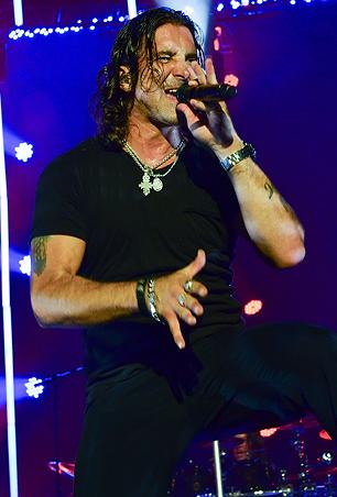 Creed's Scott Stapp 'Disappointed' With President Obama