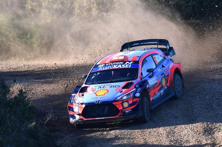 Sordo wins four stages to lead the Rally of Sardinia