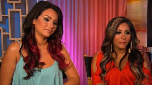 Jenni 'JWOWW' Farley and Nicole 'Snooki' Polizzi chat with Access Hollywood on June 20, 2012 -- Access Hollywood