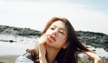 韓國女藝人鄭素敏濟州島海邊拍雜誌寫真