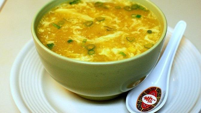 ilustrasi resep sup telur/selerasa.com