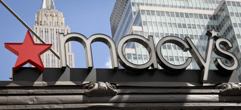 Earnings out of Macy's should be a highlight for investors on Tuesday.  (AP Photo/Bebeto Matthews)