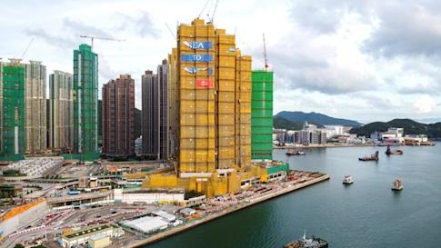CK Asset Holdings Limited's Sea to Sky residential project under construction in Lohas Park, Tseung Kwan O on 10 June 2020. Photo: Sun Yeung