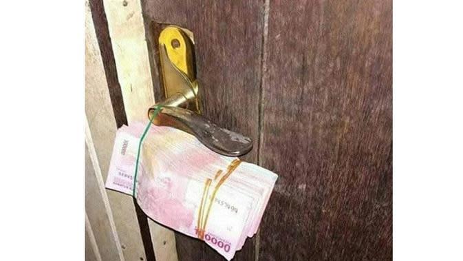 Momen Orang Enggak Butuh Uang (Sumber: 1cak)