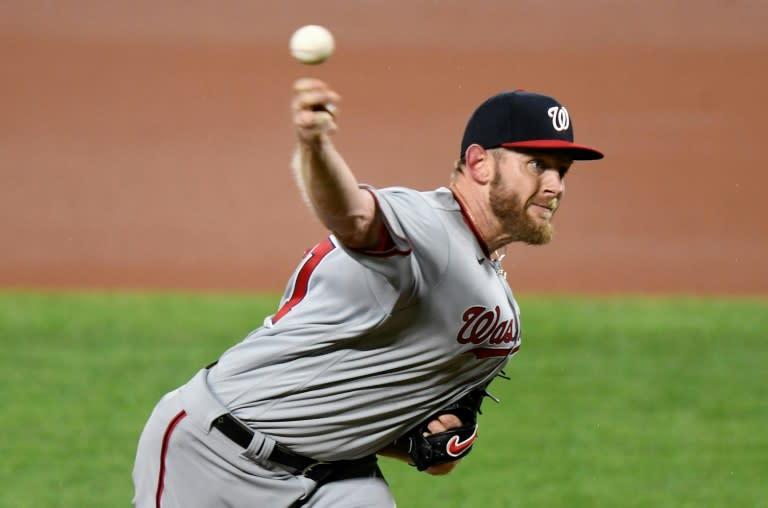 MLB champ Nats star pitcher Strasburg has carpal tunnel ailment
