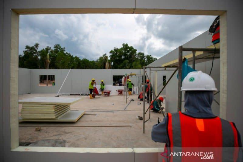 Ditinjau Presiden 28 Maret, PUPR: RS Darurat Pulau Galang sudah siap