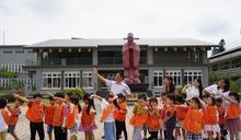 金門沒有孔廟 多所學校設有孔子銅像 (圖)