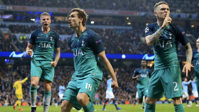 8. Tottenham Hotspur - 699 juta euro. (AP/Jon Super)