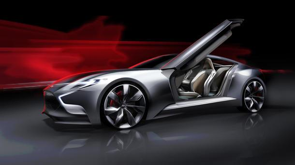 Hyundai HND-9 concept hints at the next Genesis Coupe