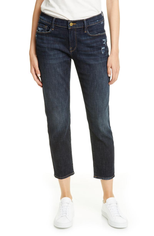 Frame Le Garcon Crop Boyfriend Jeans. Image via Nordstrom.
