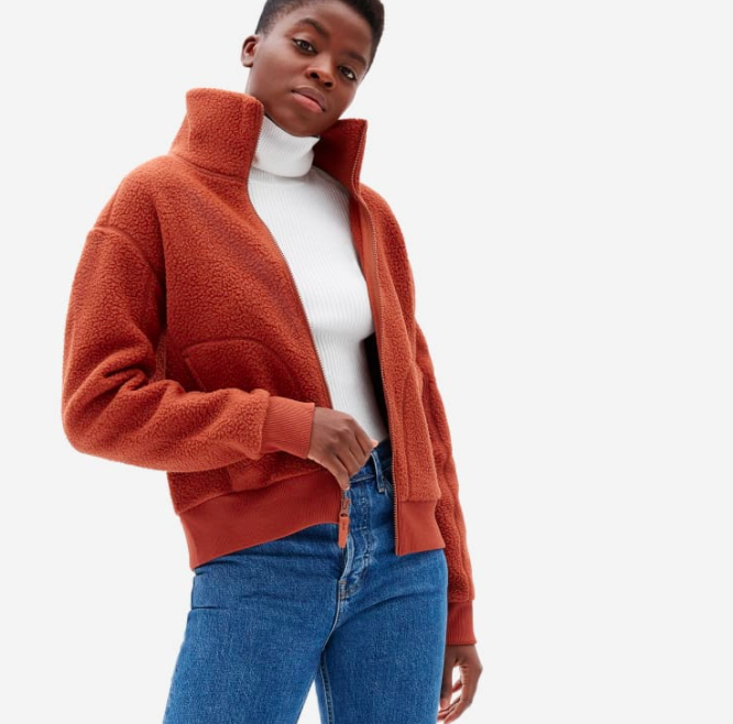 Everlane's new jackets will keep you cozy all season long.