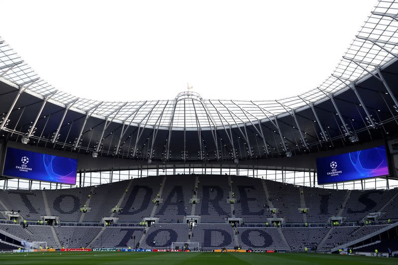 Tottenham cut pay of non-playing staff by 20% due to coronavirus