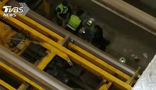 停車場維修員遭機械重壓 命危送醫搶救中