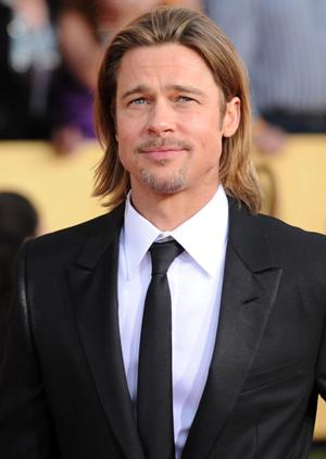Brad Pitt's Secret to Waking Up the Kids